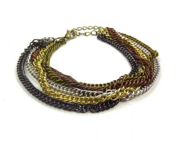 Bracelet multi-chaines
