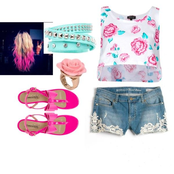 """""""Summer garden"""" by allyclaire on Polyvore"""