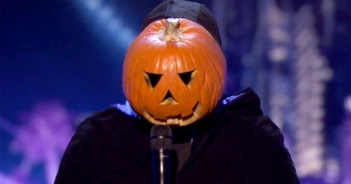 Meme Famous Dancing Pumpkin Man Returns To America S Got Talent