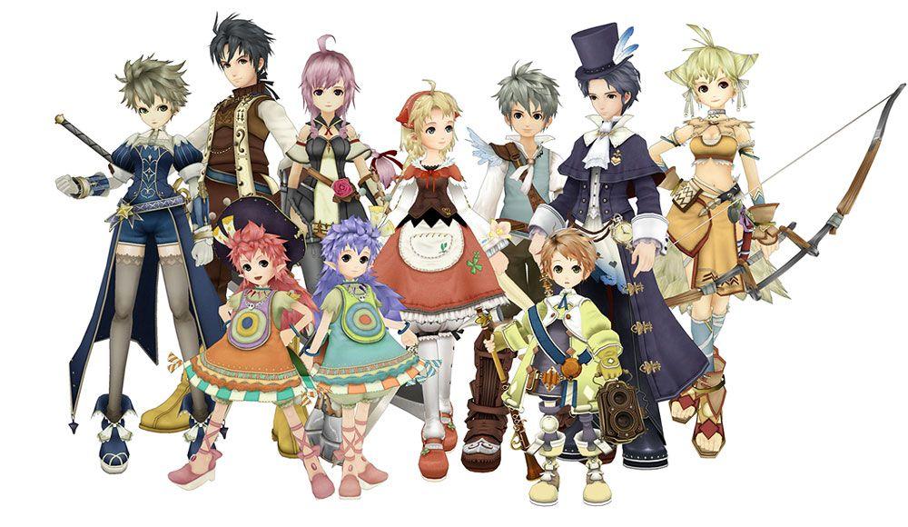 Eternal Sonata - Main Characters