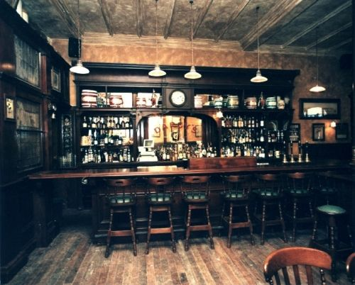 Cool Wood Bar Interior The Bar Pinterest Bar