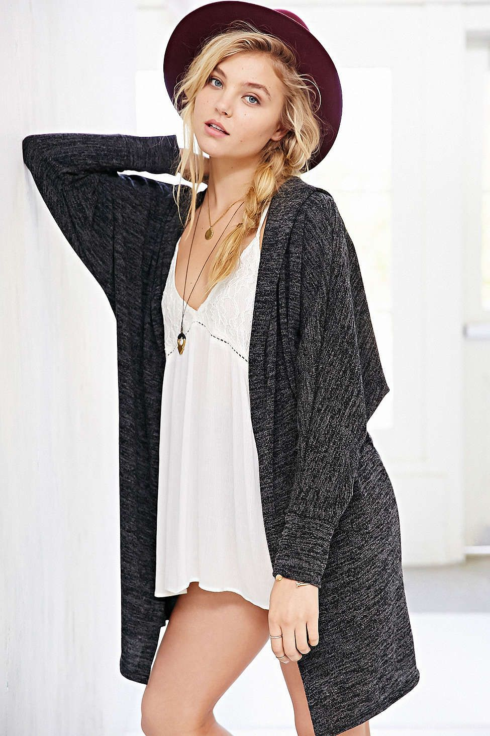 BDG Slouchy Hooded Cardigan - sweater weather! Just look at the ...