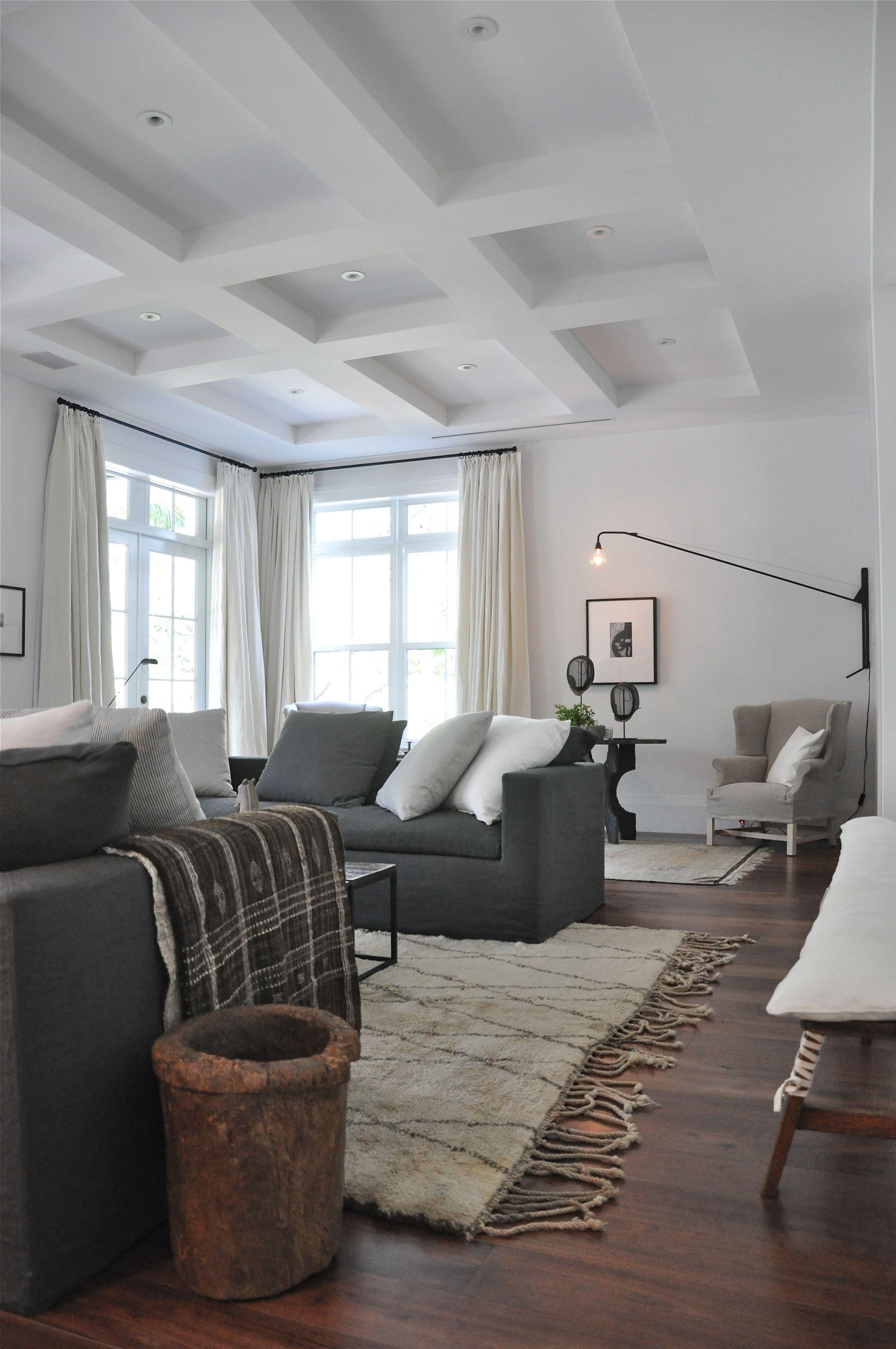 Eindelijk Gordijnen Dark Wood Floors Living Room Living Room