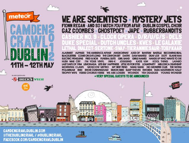 Awesome gig in Dublin this May