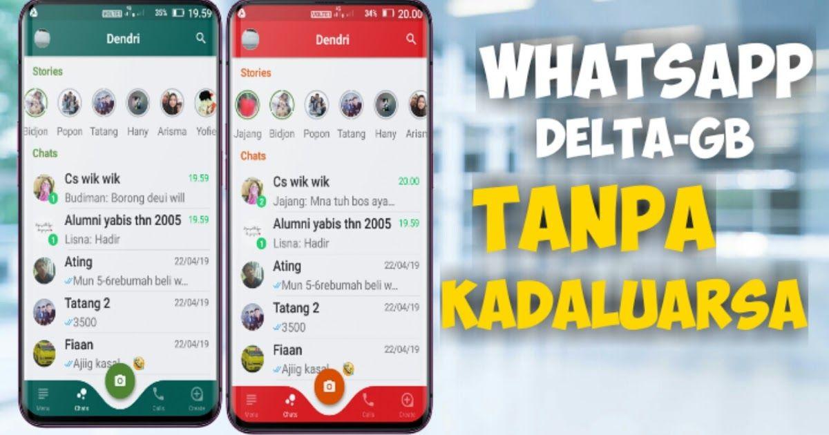 Download Whatsapp Delta Gb V 1 1 1 Extended Terbaru Tanpa Download Yowhatsapp Apk Versi Terbaru 7 90 Gratis Jalantikus Com Whats Aplikasi Iphone Komunikasi