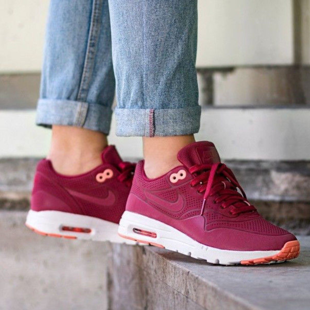 Nike Shoes | Women'S Nike Air Max 1 Ultra Moire Noble Red