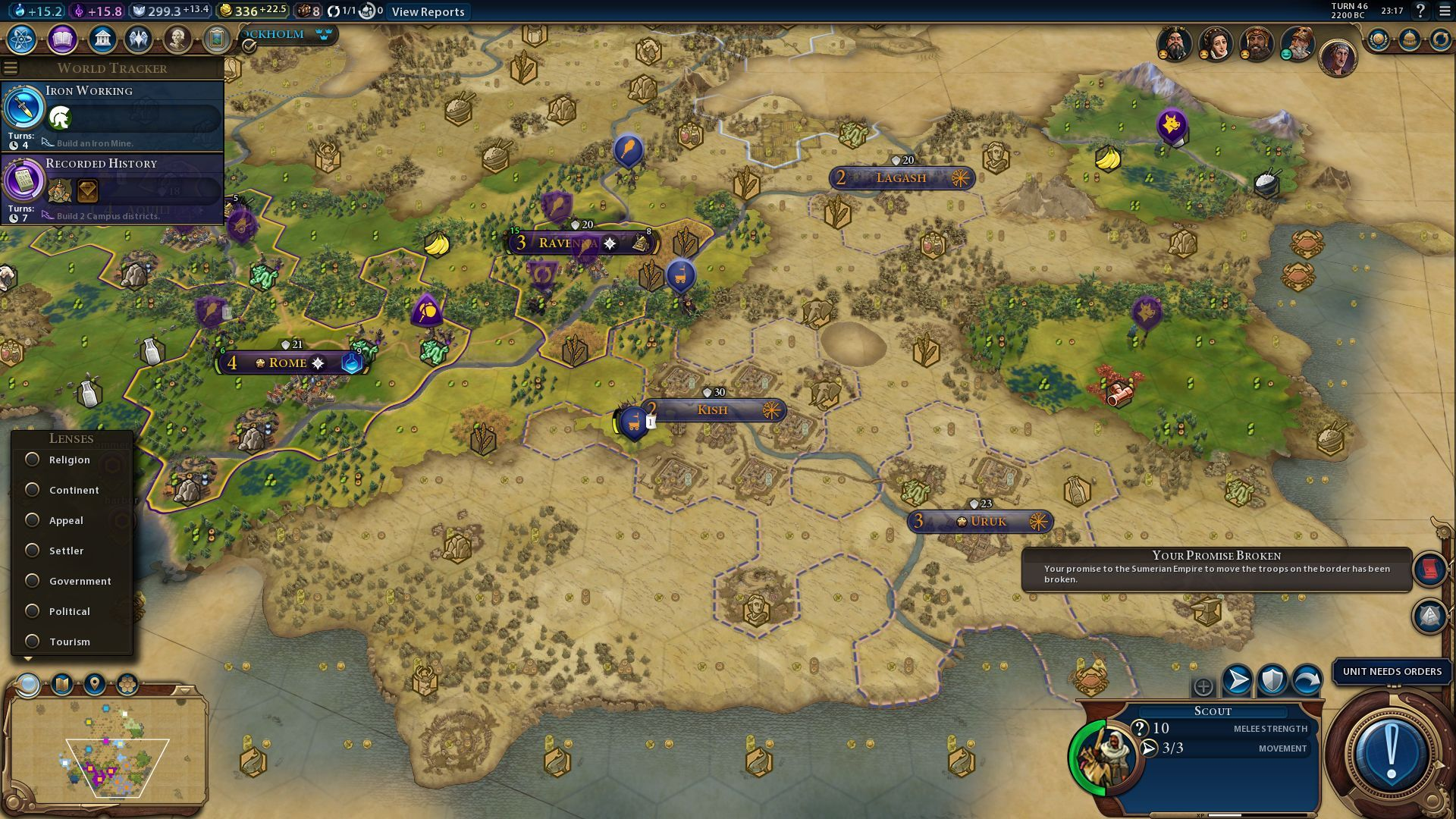 Well looks like the updated promise to move away troops from the border is broken. #CivilizationBeyondEarth #gaming #Civilization #games #world #steam #SidMeier #RTS