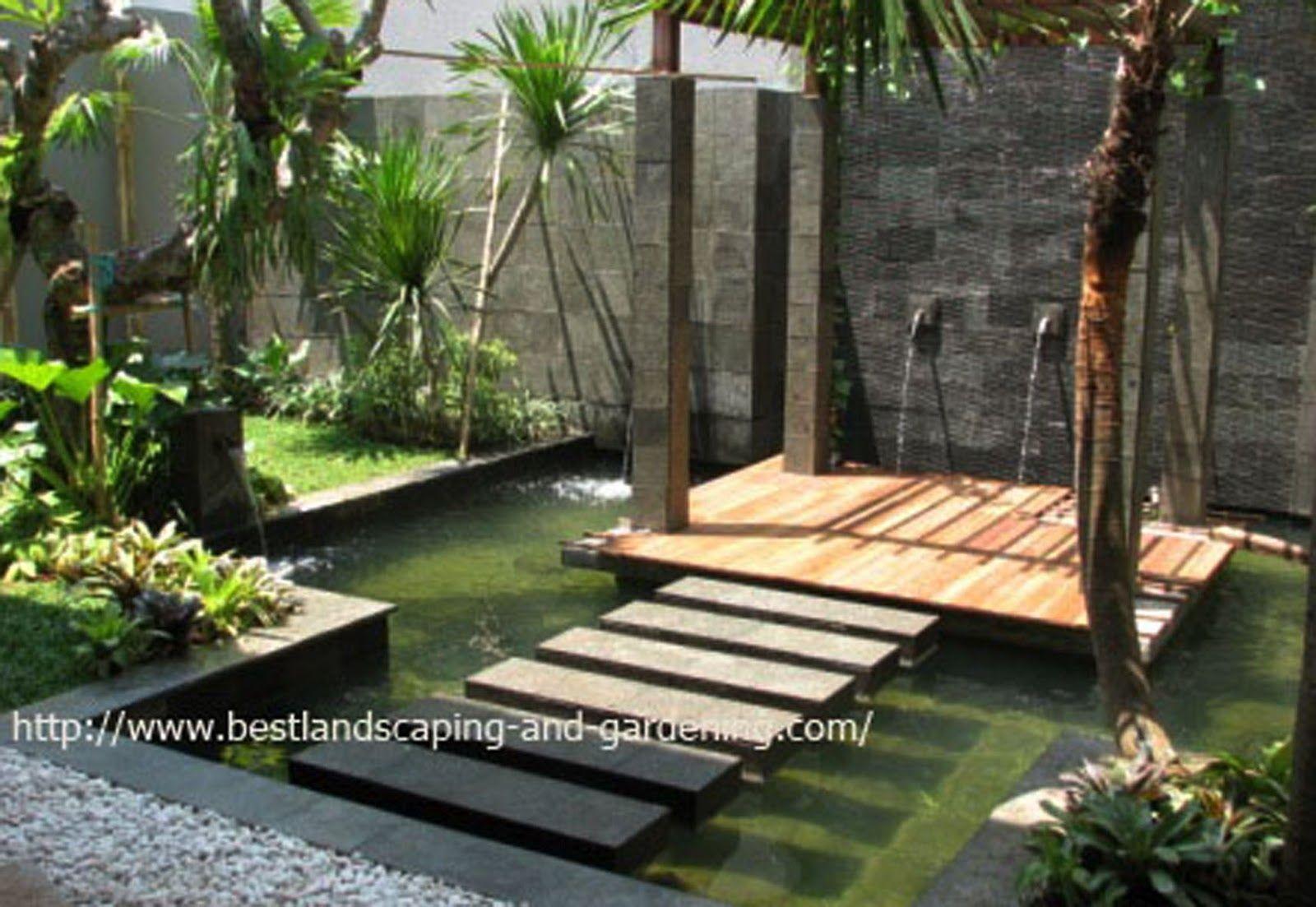 membuat desain taman minimalis belakang rumah desain