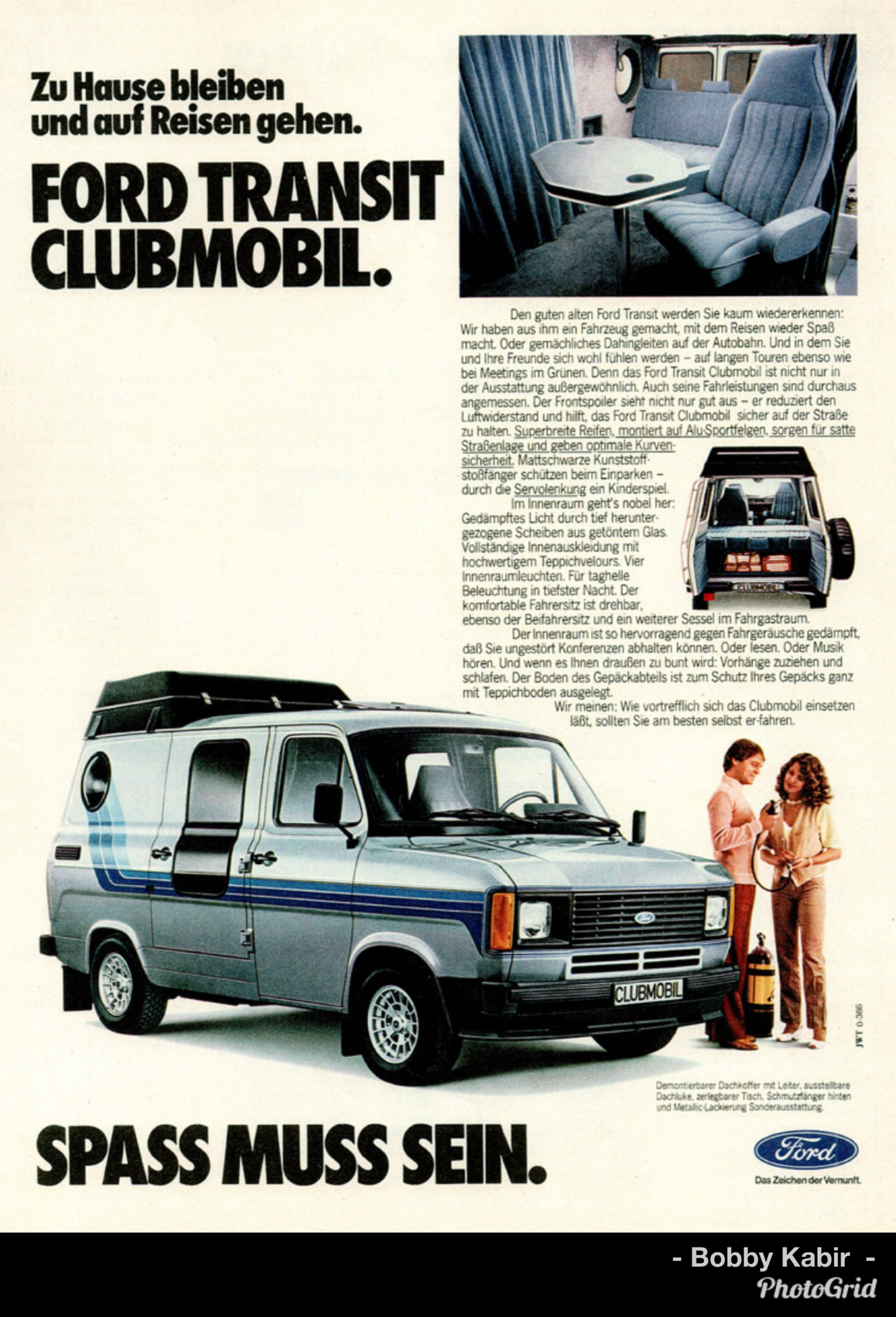 1980 Ford Transit Clubmobil Germany By Michael On Flickr Ford