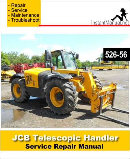 Download JCB 526-56 Telescopic Handler Service Repair Manual ... on