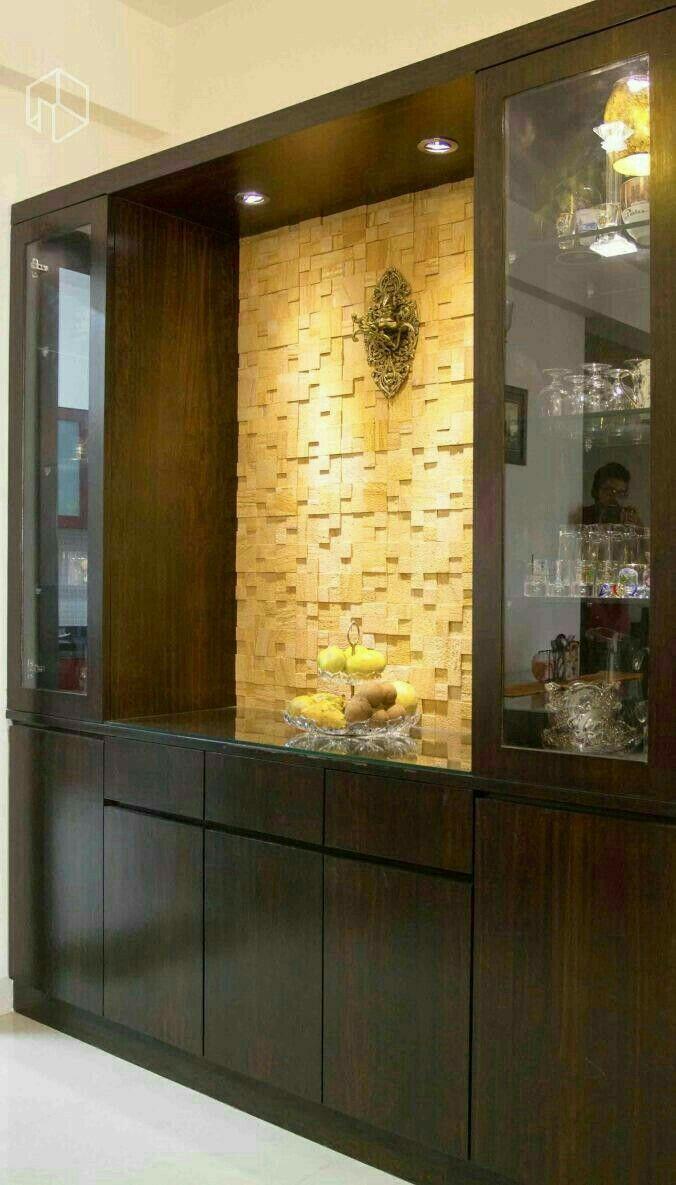 Crockery Cabinet Design By Kshetrajna On Interior