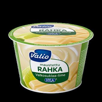Valio maustettu rahka valkosuklaa-lime HYLA®