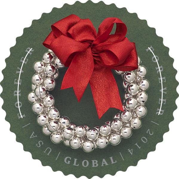 The New Global Forever Stamp For Christmas 2014