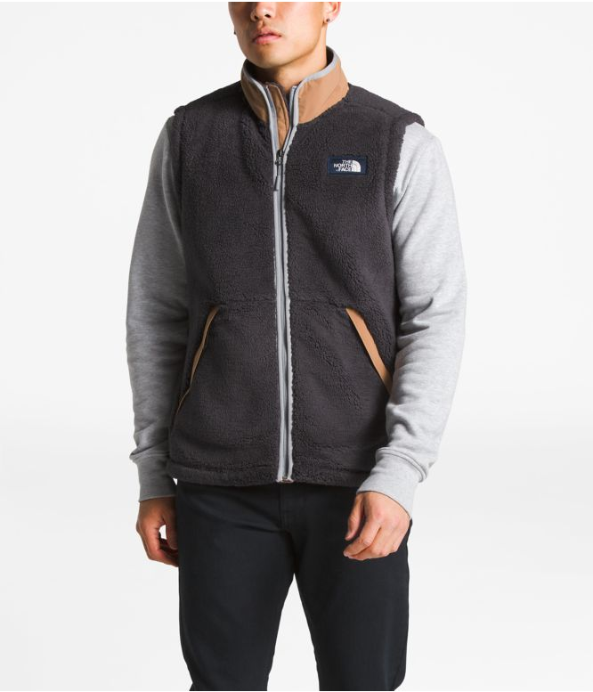 072020a08 Men's | Vests | The North Face Men's Campshire Vest in Weathered ...