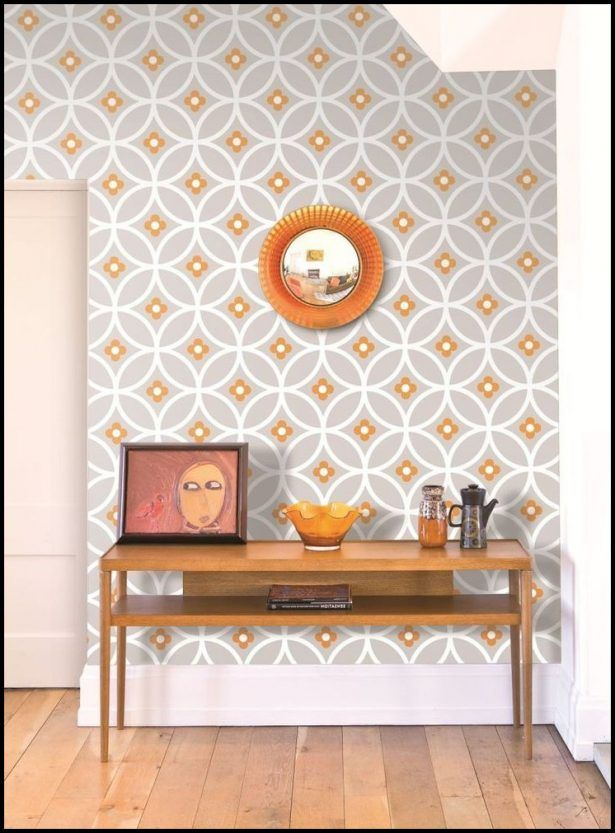 Kitchenorange kitchen wallpaper orange kitchen wallpaper and table kitchen design pinterest orange kitchen wallpaper kitchen wallpaper and orange