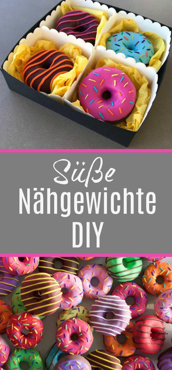 Photo of Süße Nähgewichte DIY – echt Knorke – Mit viel ♥ zum Detail