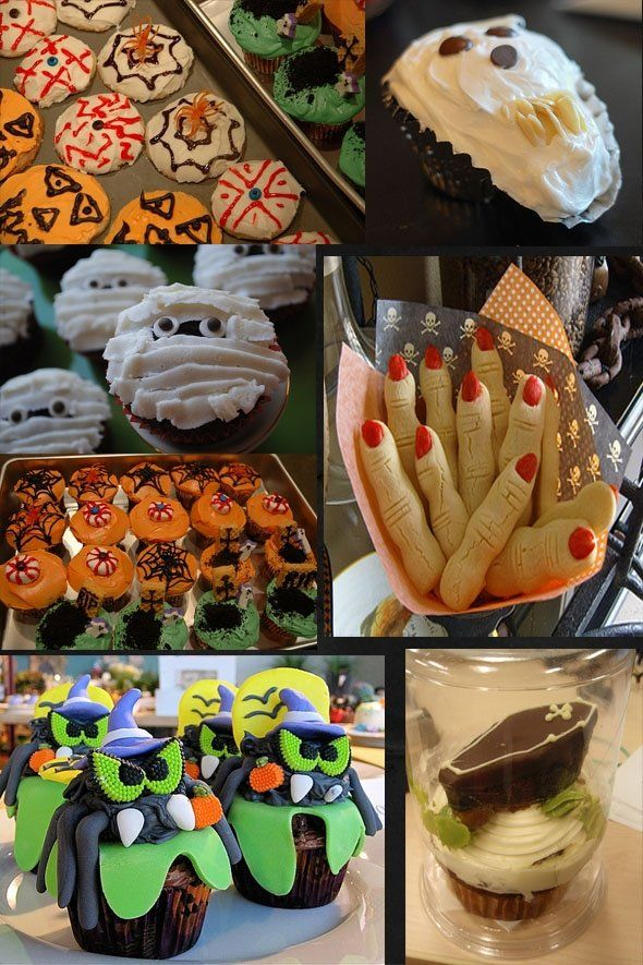 Halloween Treats - deliciously creepy treat ideas.