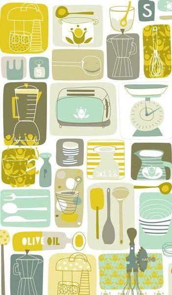 Ideas brillantes para el hogar imagenes para imprimir y - Imagenes de cocinas para imprimir ...