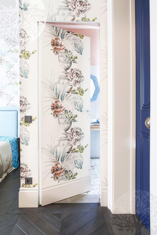 Hidden Doors Decorated With Wallpaper Hidden Doors In Walls Wallpaper Door Hidden Door