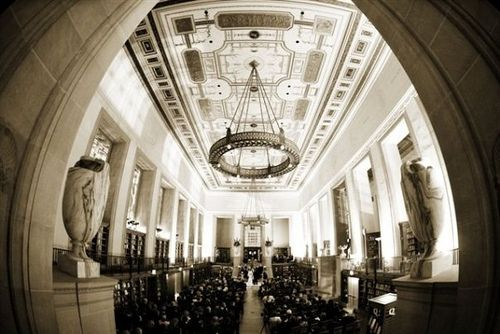 In Love With Central Library Central Library Library Wedding