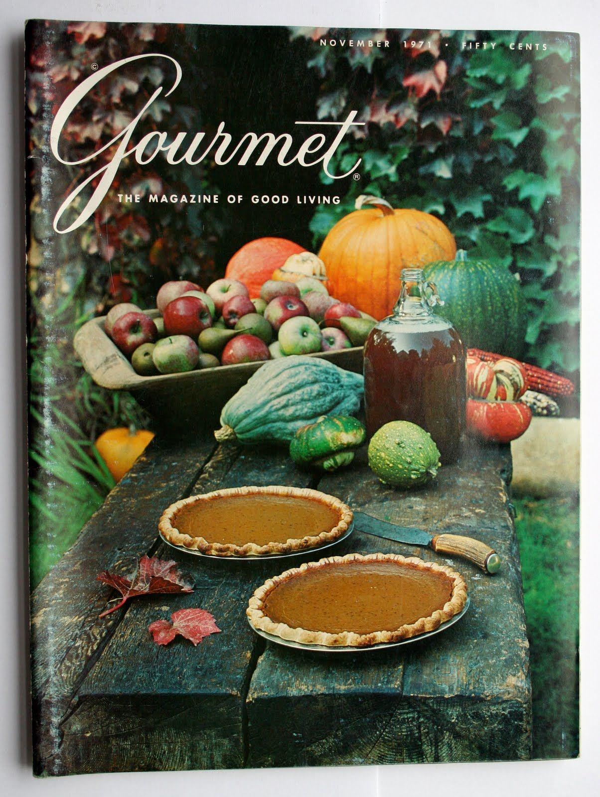 Gourmet, November 1971 cover.