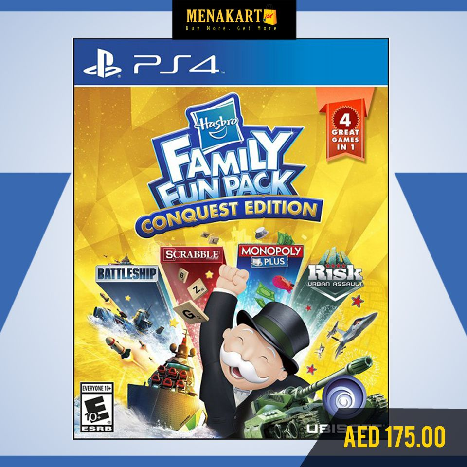 Hasbro Family Fun Pack Conquest Edition Playstation 4 Games Ps4 Online Shopping Gaming Playstation Ozzy Osbourne Model Box Olympische Spiele