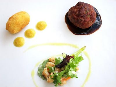 BBQ Meatball Plate