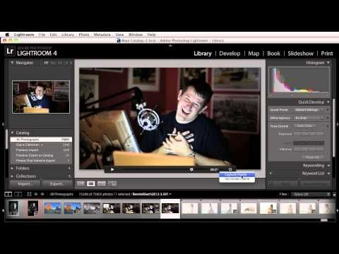 Working with Video in Lightroom