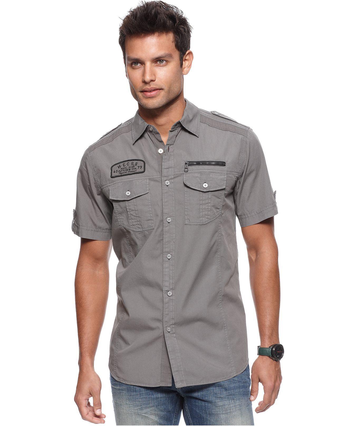 macys marc ecko cut amp sew shirt broome shirt