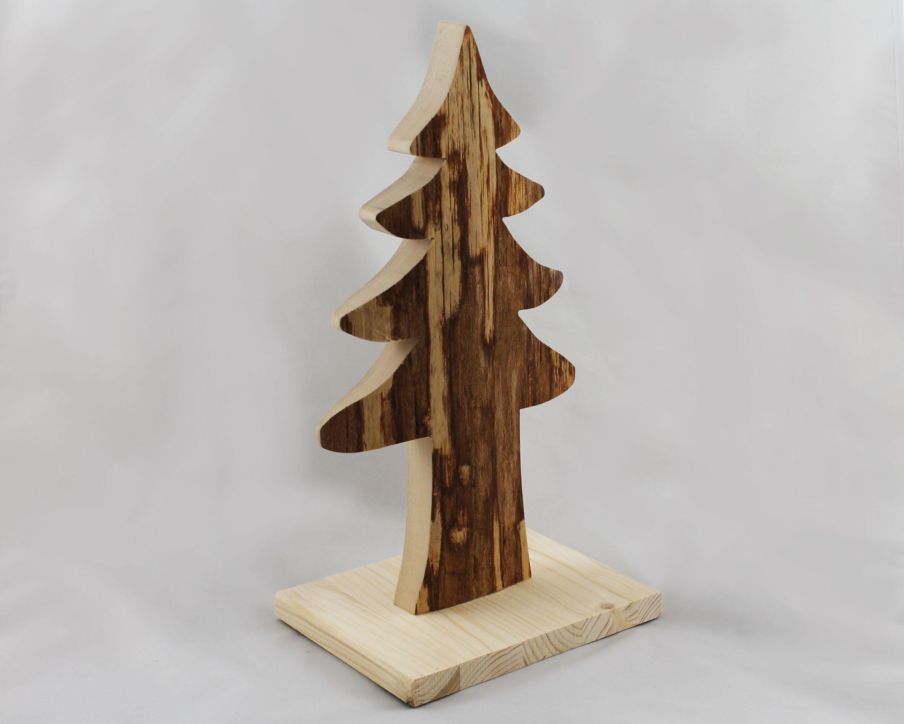 tannenbaum mit rinde holzdeko rinde und tannenbaum. Black Bedroom Furniture Sets. Home Design Ideas