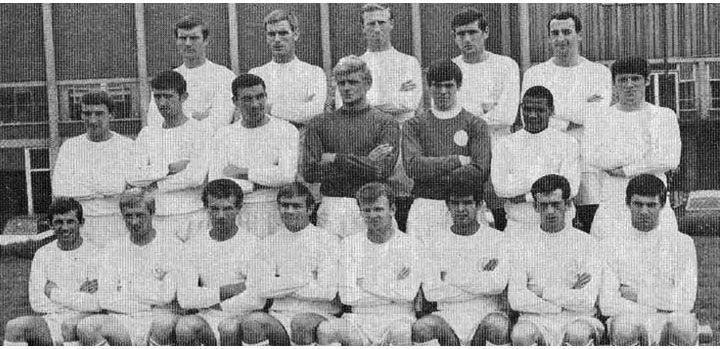 leeds squad photo 1967-1968