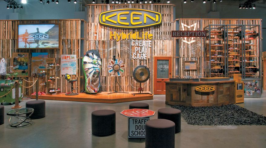 Environmentally friendly exhibits are commonplace events at most