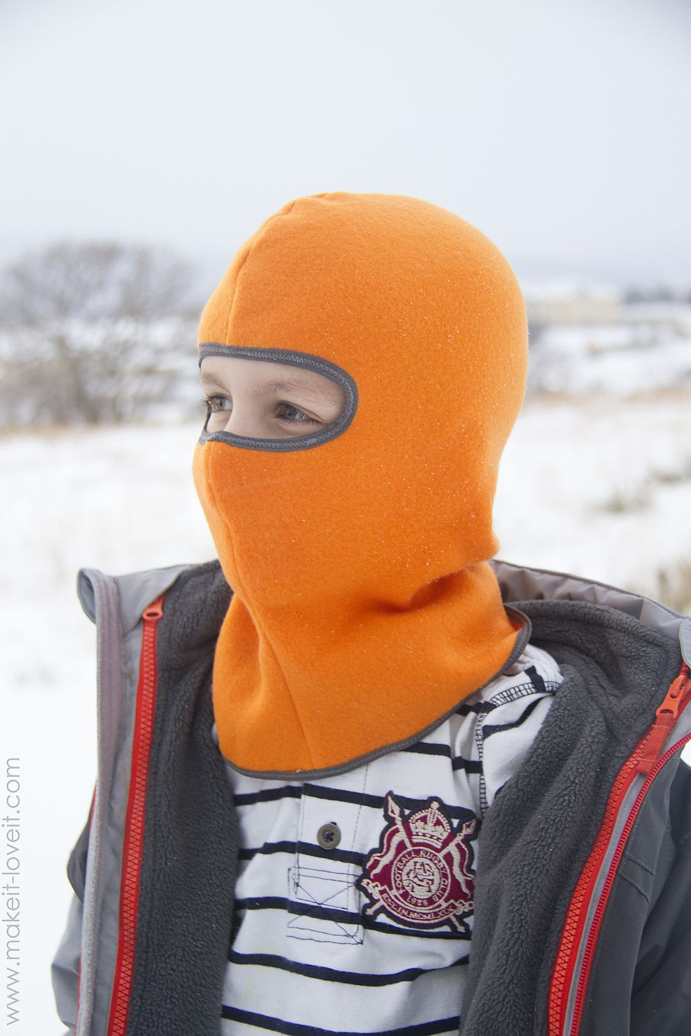 How to Make Your Own DIY Ski Mask (Balaclava Sewing Pattern ...