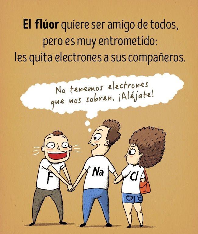 Cómo lucirían los elementos químicos si fueran personas Química - best of tabla periodica de los elementos mas importantes