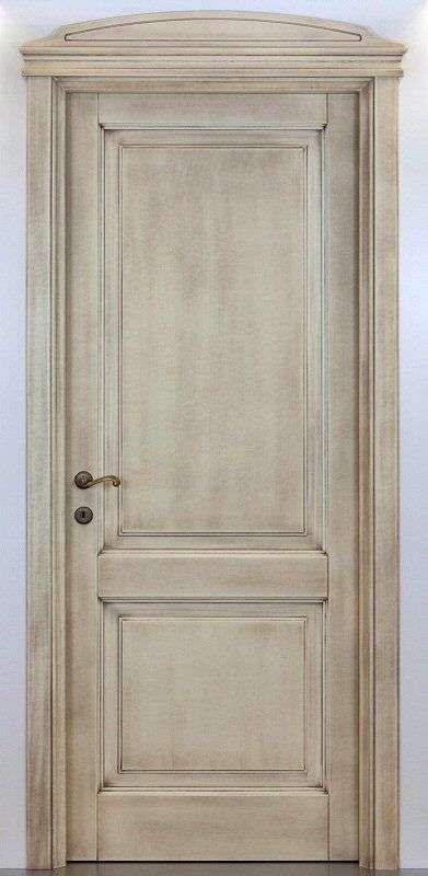 Decapare una porta - Porta decapata in legno chiaro