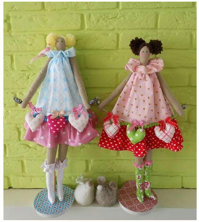 Tilda Dolls (picture only) | Tilda | Pinterest | Nähen