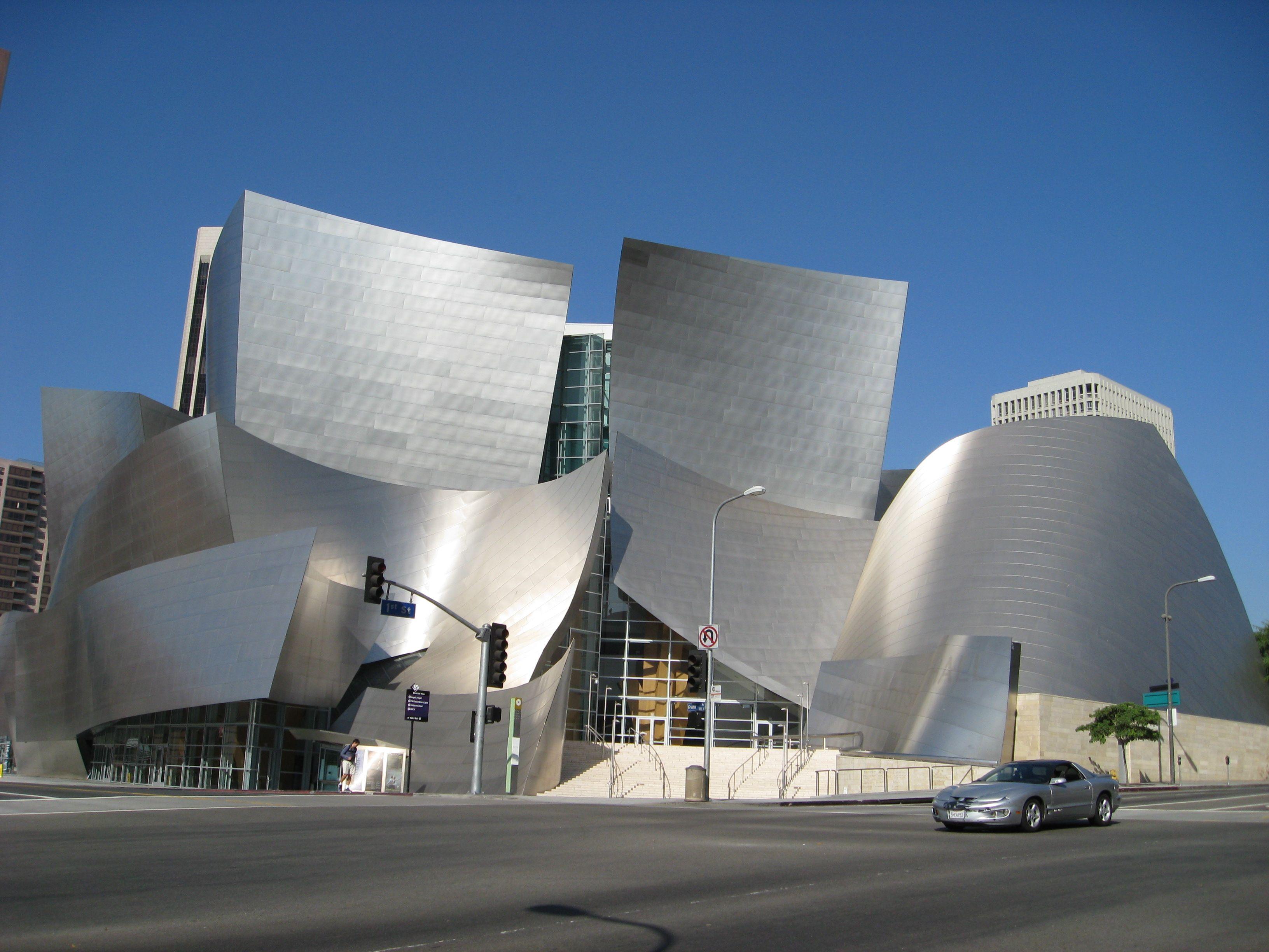Disney Music Hall Walt Disney Concert Hall Disney Music Architecture