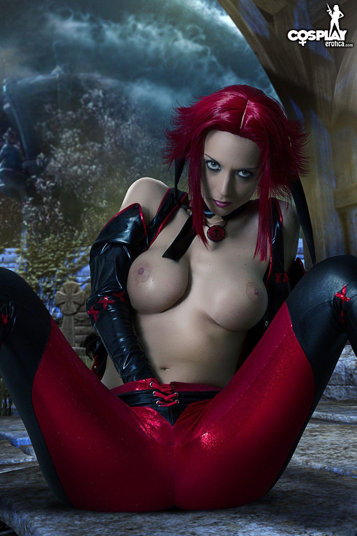 Cosplay erotica cosplayerotica bloodrayne nude