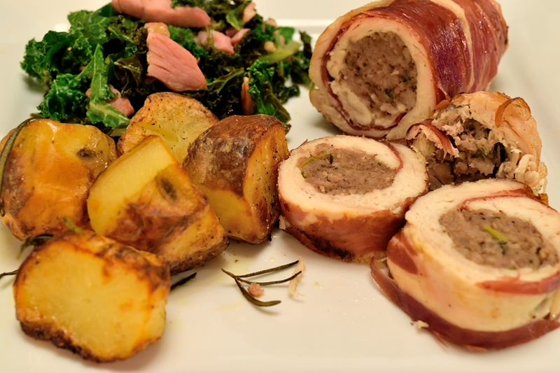 Easy Chicken Fillets Stuffed with Italian Sausage