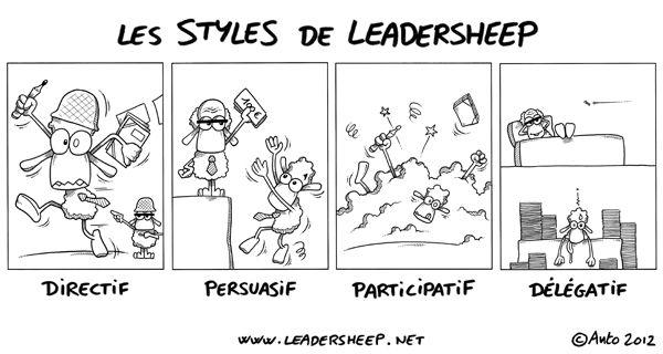 Les Styles De Leadership Selon Hersey Et Blanchard Leadership Plan De Carriere Les Styles