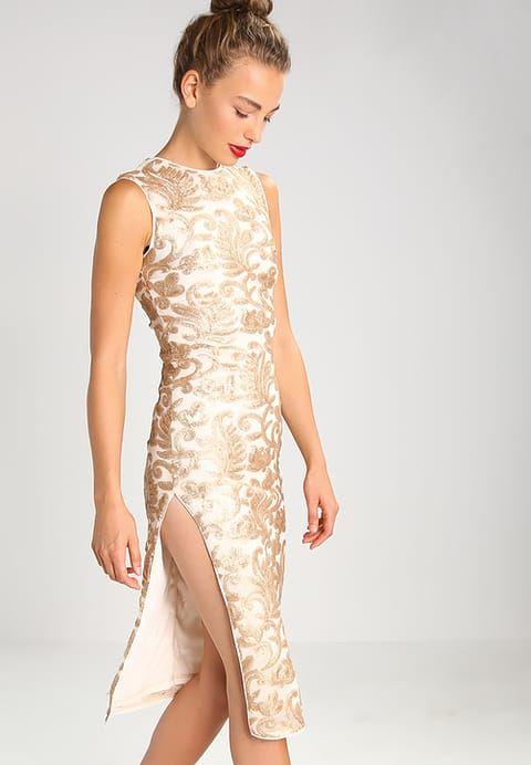 TFNC RENOIR - Cocktailkleid / festliches Kleid - gold/nude