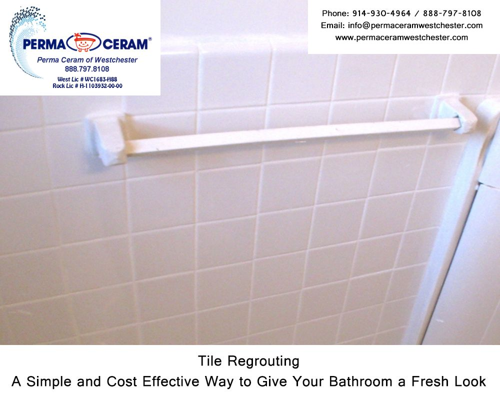 Tile Regrouting A Simple And Cost Effective Way To Give Your