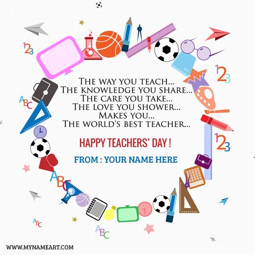 Create World Teachers Day Greeting Cards Online Free Make Happy World Teachers Day Wishes Quot Teachers Day Wishes Teachers Day Card Happy Teachers Day Wishes