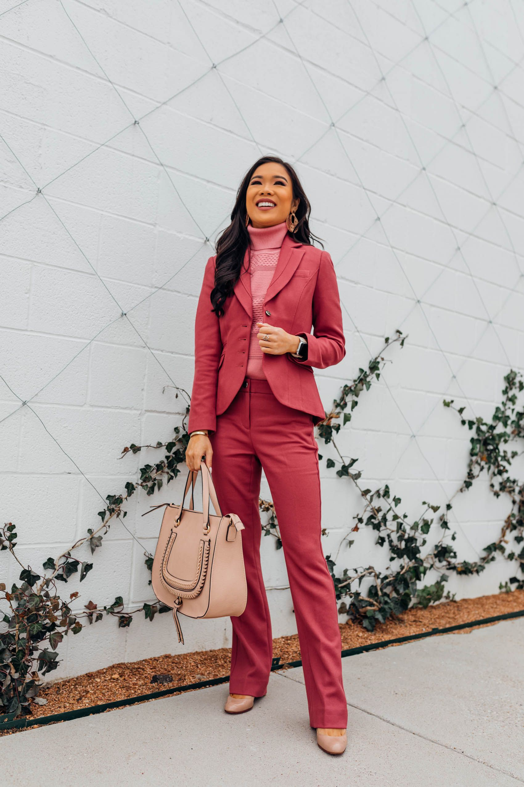 4b3557b10 Blogger Hoang-Kim shares a colorful workwear style from White House Black  Market