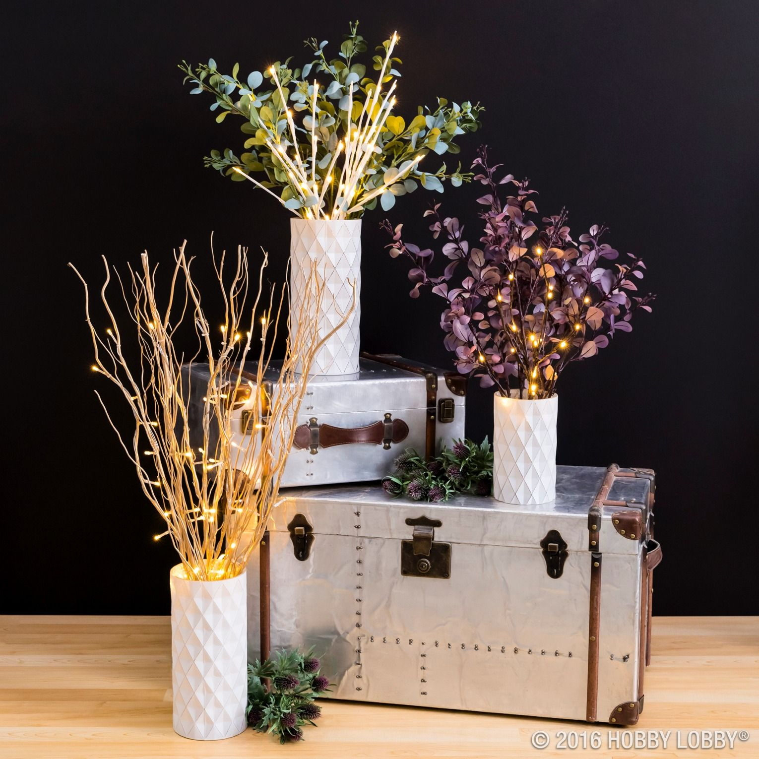 Add Elegance To Any Arrangement With Lighted Branches Featuring Warm,