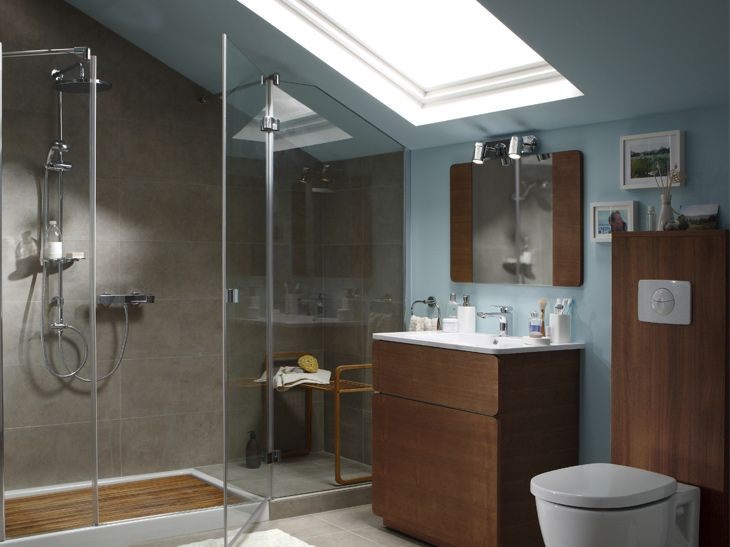 1000 images about salle de bain combles on pinterest merlin sloped ceiling and bright bathrooms - Salle De Bain Combles