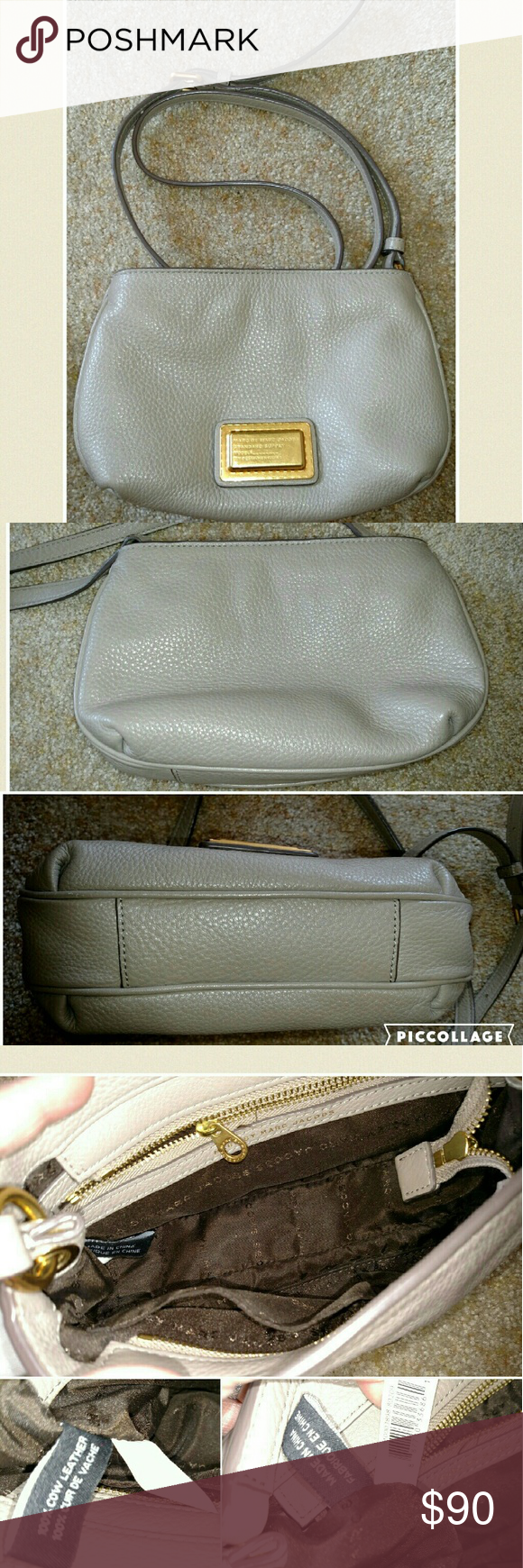 Marc jacobs crossbody purse In very good condition. I m very careful w my  purses. Both interior and exterior very clean. Only sign of wear is a tiny  bit of ... 4fc9d3b4dac8c