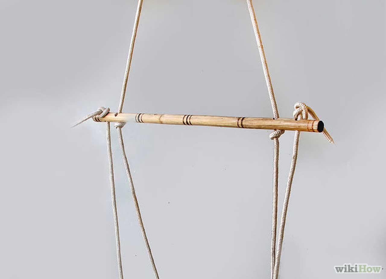 How to make diy le beanock indoor hammock design