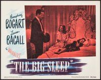 "The Big Sleep (Warner Brothers, 1946). Lobby Card (11"" X 14""). Film Noir"
