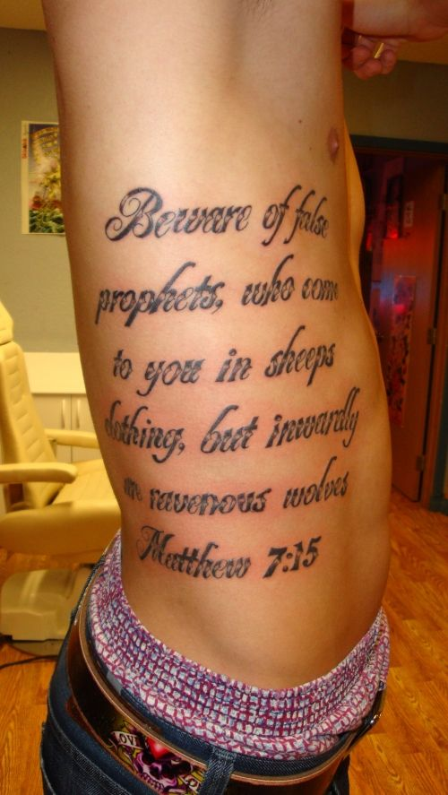 Bible Verse Tattoos For Athletes : bible, verse, tattoos, athletes, Style